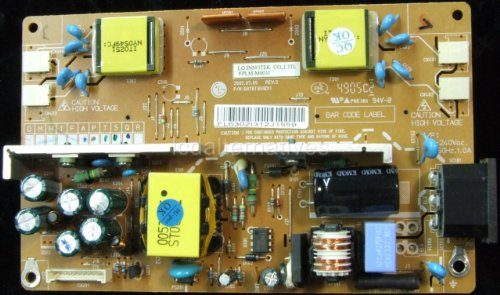 Repair Kit, LG Flatron L1932TQ-BF, LCD Monitor, Capacitors, Not The Entire Board