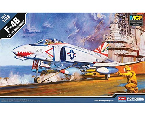 - Academy 12232 F-4B VF-111 Sundowners 1/48 Scale Model Kit