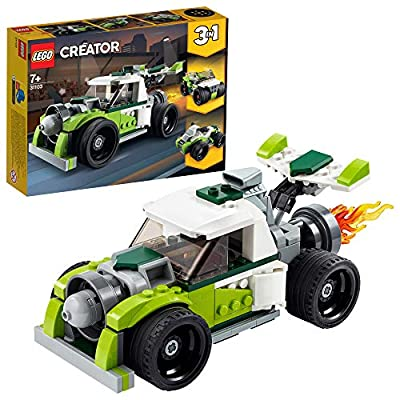 LEGO Creator 3in1 Rocket Truck 31103 Building Kit, Cool Buildable Toy for Kids, New 2020 (198 Pieces): Toys & Games