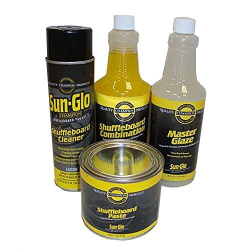- Sun-Glo Shuffleboard Maintenance Kit