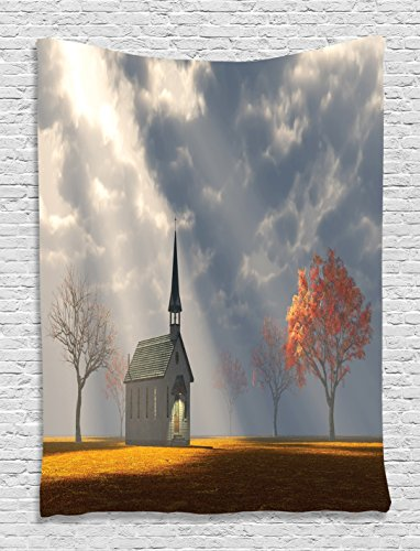 Christian Church Hanging Tapestry Bedroom