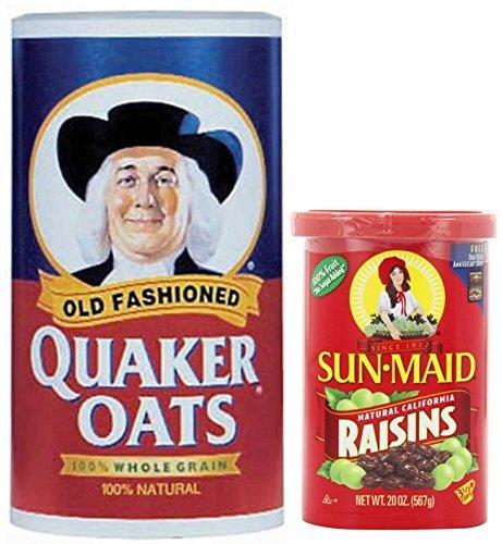 Quaker Oats Oatmeal Raisin - 8