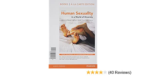 Human sexuality in a world of diversity 4th canadian edition reference