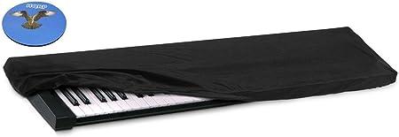 HQRP Funda antipolvo, cubierta para Casio CTK-7200 / CTK7200 / CTK-6200 / CTK6200 / CTK-6250 / CTK6250 / CTK-2400 / CTK2400 sintetizador + HQRP ...