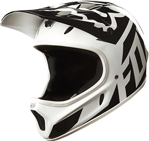 Fox Racing Rampage Helmet White/Black, (White Xl Helmet)
