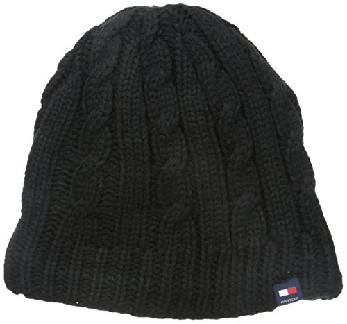 Tommy Hilfiger Fleece Lined Cable Beanie