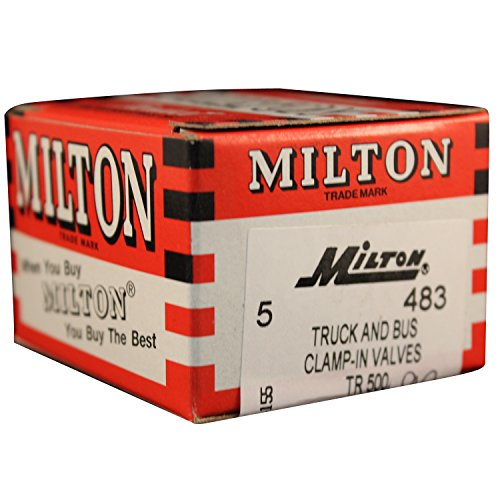 Milton 483 2 5/32'' Tubeless Tire Valve - Box 5 by Milton Industries (Image #1)