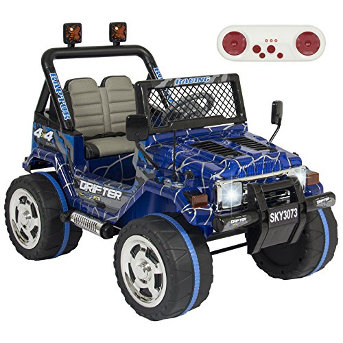 [Eight24hours 12V Ride On Car W/ Remote Control, Speeds- Spiderman Blue] (Power Loader Costume Baby)