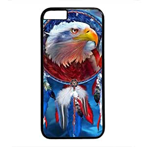 Dream Catcher, Red Eagle Iphone 6 Case, Flag Case for Iphone 6 - PC Black