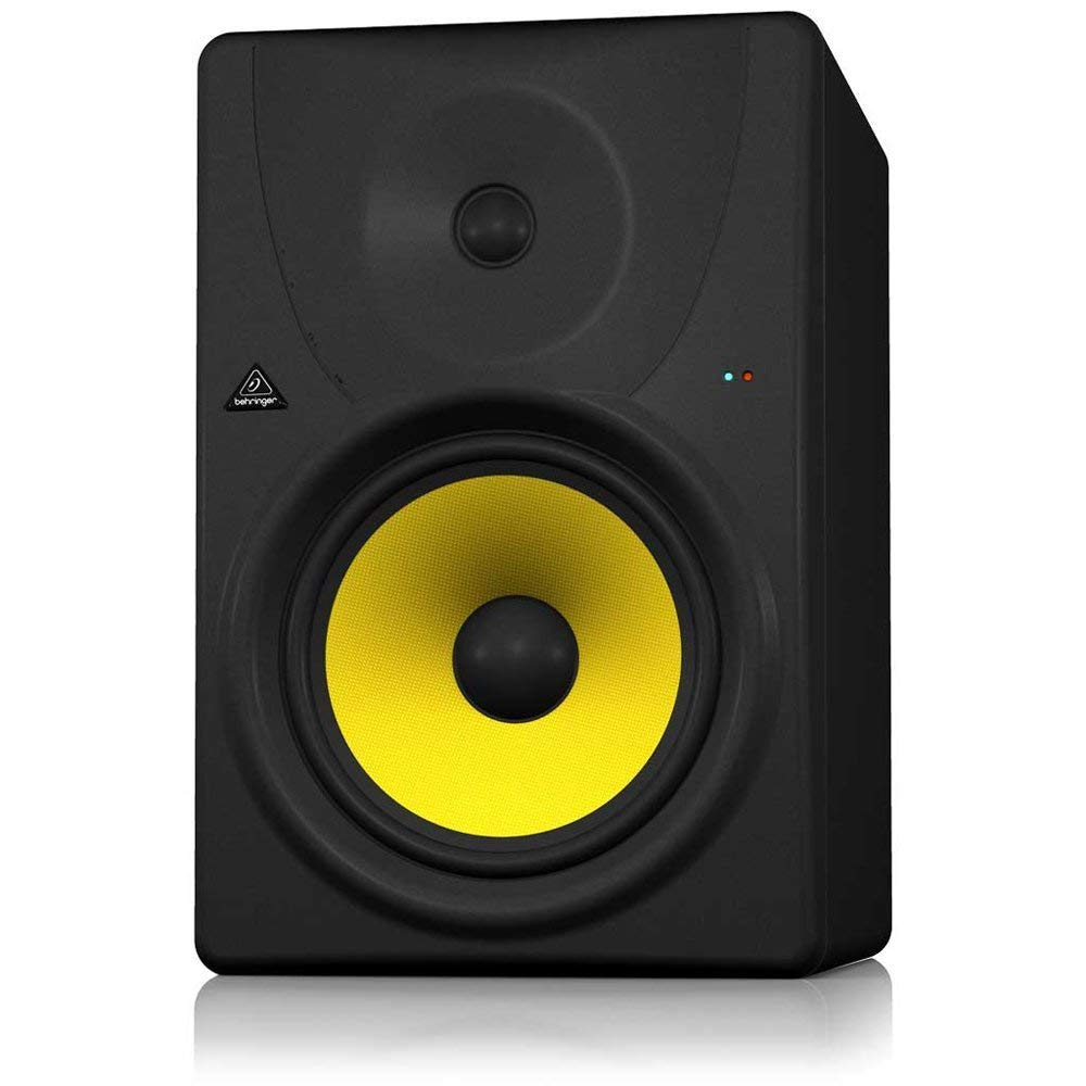 BEHRINGER B1031A High-Resolution Active 2-Way Reference Studio Monitor with 8 Kevlar Woofer Black