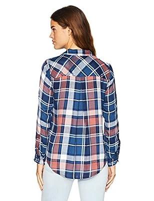 Lucky Brand Women's Boyfriend Plaid Shirt in Multi