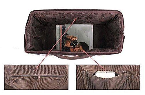 ilishop Women's Retro Vintage Style Travel Bag Shoulder Hobo Bag Purse Handbag Tote New (Newspaper)