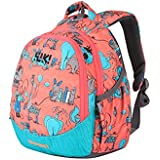 Wildcraft Polyester 14 Ltrs Pink School Backpack (Wiki Zoo 3)