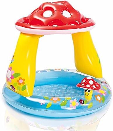 Piscina hinchable con champiñón para bebé, piscina de mar, lavabo: Amazon.es: Jardín
