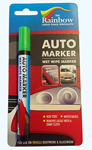 AUTO WRITER Marker Removable Paint For Auto Body Panels And Windscreens 5Mm - Autowriter