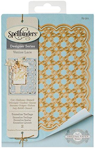 Spellbinders Card Creator Emmeline Tillage Etched/Wafer Thin Dies by Spellbinders