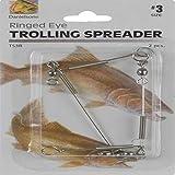 Danielson Trolling Spreader Ring Eye Fishing Equipment, Size 3