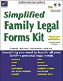 Simplified Family Legal Forms Kit, Daniel Sitarz, 1892949571