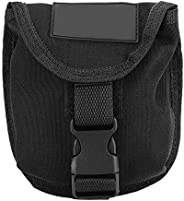 2KG Weight Belt Pocket with Quick Release Buckle Scuba Diving Trim Counter Weight Pocket Pouch with Buckles fo