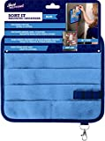 Magnetic Kitchen Fridge Organizer | For Receipts, Menus, Notes, Keys and More | Strong Magnets - Blue