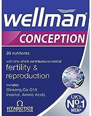 Vitabiotics Wellman Conception Tablets 30 Capsules