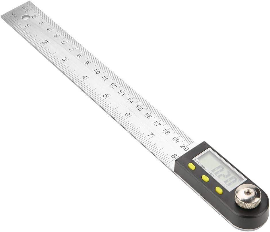 Digital Angle Finder Protractor Stainless Steel Electronic Protractor Goniometer Angle Finder Miter Gauge Angle Finder Ruler