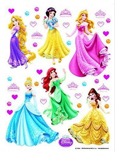 1art1 Disney Princess Poster Sticker Wall Tattoo