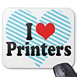 Zazzle I Love Printers Mouse Pad