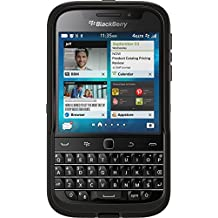 OtterBox Defender Case for BlackBerry Classic - Retail Packaging - Black (Black/Black)