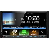 """Kenwood DDX9703S 2-DIN In-Dash DVD/CD/AM/FM Car Stereo w/ 6.95"""" Touch Screen with Built-in HD Radio, Apple Carplay and Android Auto"""
