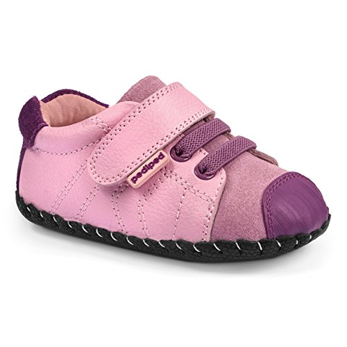 Pediped Infant Shoes - pediped Originals Jake Casual Sneaker (Infant), Pink, Medium (12-18 Months)