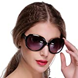 Bulges New Women's Retro Vintage Style Shades Fashion Oversized Designer Lens Sunglasses Outdoor Driving Eyewear Glasses