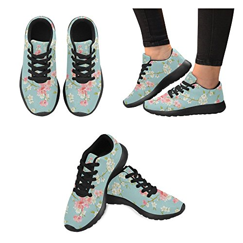 Zenzzle Size 15 Lightweight Running Shoes Flowers Women's 6 Blossom on Athletic Sneakers Print Casual US Spring rOqZwFr