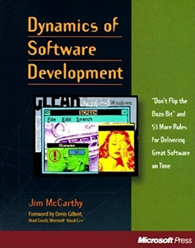 Dynamics of Software Development by Jim McCarthy (1995) Paperback