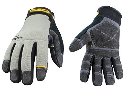 Youngstown Glove 05-3080-70-M General Utility lined with KEVLAR Glove Medium, Gray by Youngstown Glove