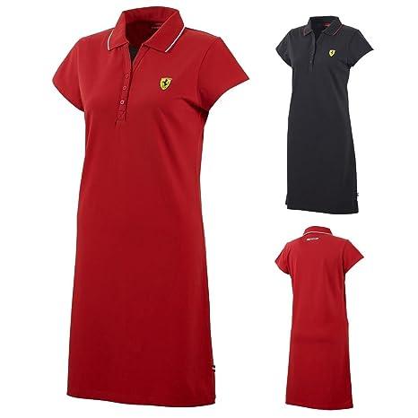 Nuevo! 2015 Scuderia Ferrari F1 mujer carrera vestido damas hembra ...