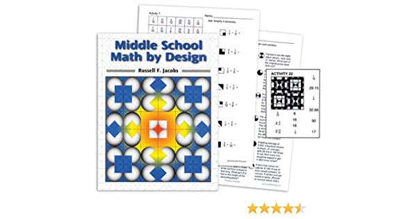 Counting Number worksheets math and money worksheets : Middle School Math by Design: Russell F. Jacobs: 9780918272362 ...