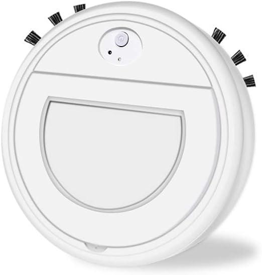 Hankyky Robot Aspirador Inteligente aspiradora Mascota,3 en 1 Robot Aspirador automático y fregasuelos,Aspiradora Robot para Suelos Duros Y Alfombras,USB Recargable,para Mascotas,moqueta: Amazon.es: Hogar