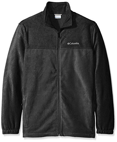 Columbia Men's Big & Tall Steens Mountain Full Zip 2.0 Fleece Jacket,Charcoal Heather/Shark,Tall/Large
