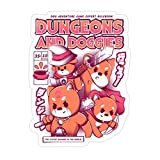 DKISEE 3 PCs Dungeon and Doggies - 4 inches Die-Cut