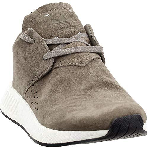 Adidas ORIGINALS Men's NMD_C2 Running Shoe, Simple Brown/Black, 10.5 M US