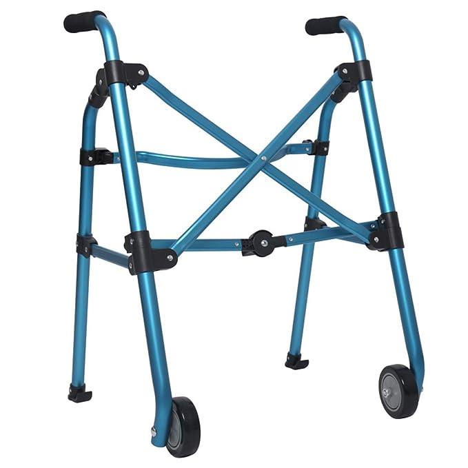 FFLSDR Caminador De Rehabilitación Azul De Cuatro Patas De ...