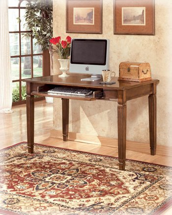 small office furniture office. Traditional Medium Brown Hamlyn Small Office Desk Furniture E