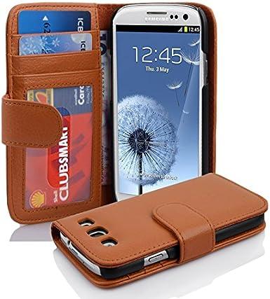 Cadorabo – Portefeuille design style livre pour Samsung Galaxy S3/S3 Neo (i9300) avec 2 emplacements pour cartes et argent Pochette – Etui coque ...