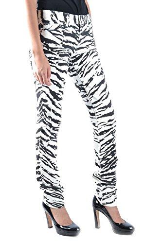 Donna Cotone Saint nero Jeans Bianco Mcbi264015o Laurent E6w6Pa1q7