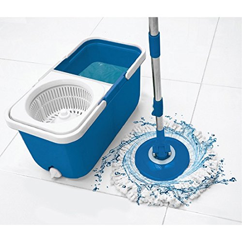 Big Boss INSTAMOP The Spinning Action Mop With Stackable Bucket - Blue