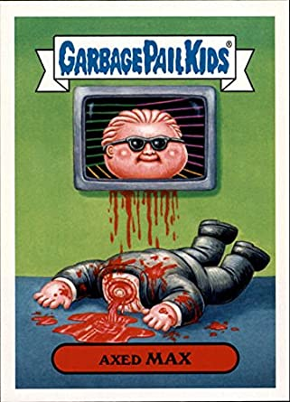 Amazon com: 2018 Garbage Pail Kids We Hate the '80s TV Shows and Ads