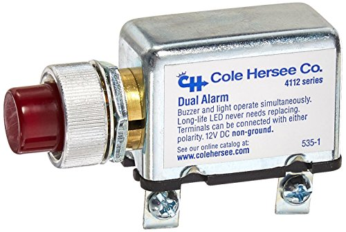 Cole Hersee 4112-RC-BP 12V Dual Alarm
