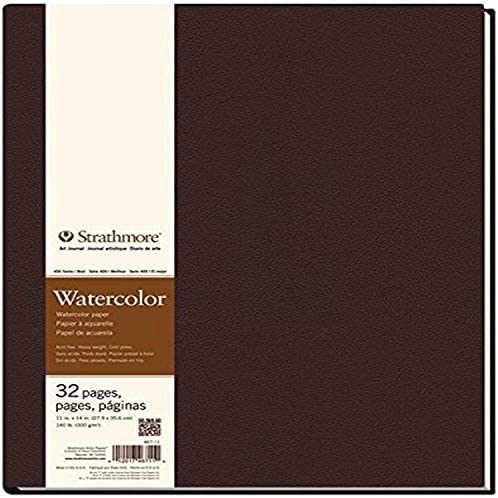"""Strathmore Watercolor Travel Pad 3/""""X9/""""-12 Sheets"""