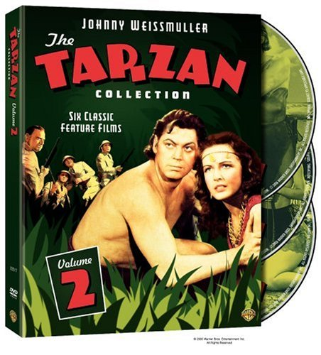 The Tarzan Collection Starring Johnny Weissmuller: Volume Two (Tarzan Triumphs / Tarzan's Desert Mystery / Tarzan and the Amazons / and the Leopard Woman / and the Huntress / and the Mermaids) by Warner Home Video